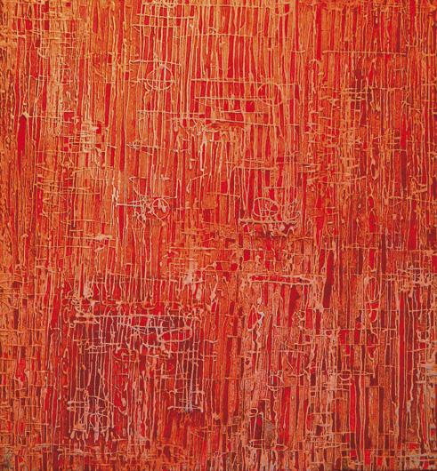 red-dub-----cm.110-x-120---tecnica-mista-su-tavola-2011